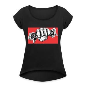 Legendary Cashe Apparel - Women's Roll Cuff T-Shirt