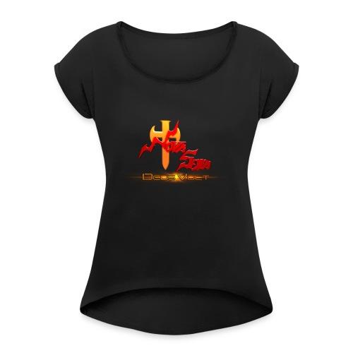 Nova Sera Logo - Women's Roll Cuff T-Shirt