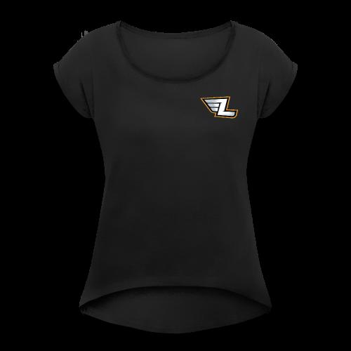 LuxxGang Standard Edition - Women's Roll Cuff T-Shirt
