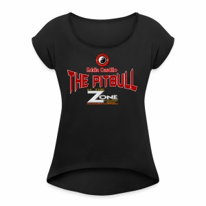 Eddie Castillo - Women's Roll Cuff T-Shirt