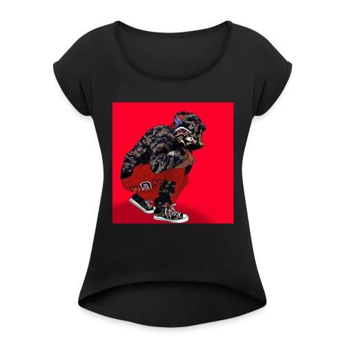 Supreme uban - Women's Roll Cuff T-Shirt