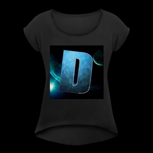 DawnMerch - Women's Roll Cuff T-Shirt