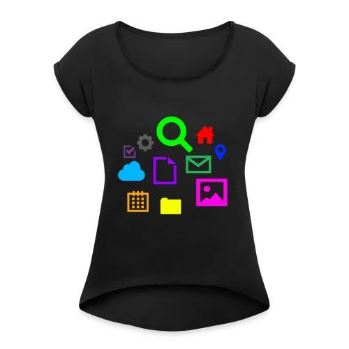 Internet - Women's Roll Cuff T-Shirt