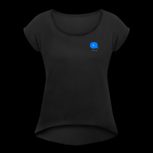 k. - Women's Roll Cuff T-Shirt