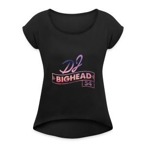 The Big Head Squad! - Women's Roll Cuff T-Shirt