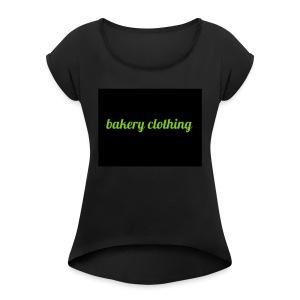 bakery clothing - Women's Roll Cuff T-Shirt