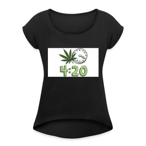 420 - Women's Roll Cuff T-Shirt