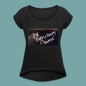 Official T.E.A Wear - Women's Roll Cuff T-Shirt