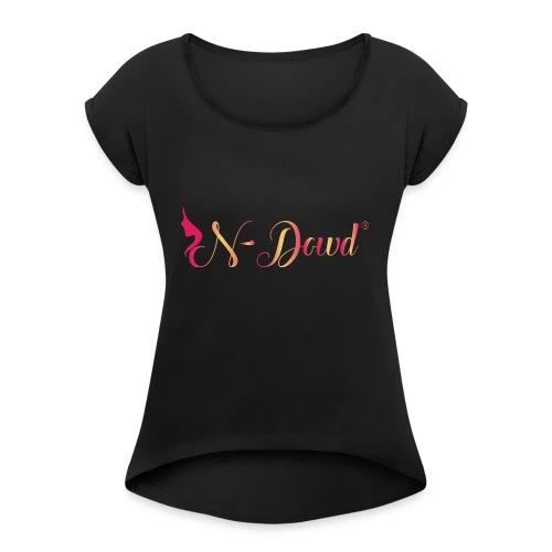 N-Dowd Facing Forward - Women's Roll Cuff T-Shirt