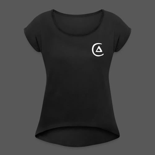 Circulation of Fire - Women's Roll Cuff T-Shirt