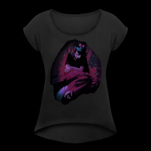 Neuromancer - Women's Roll Cuff T-Shirt