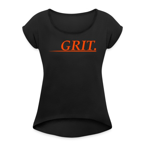 GRIT. - Women's Roll Cuff T-Shirt