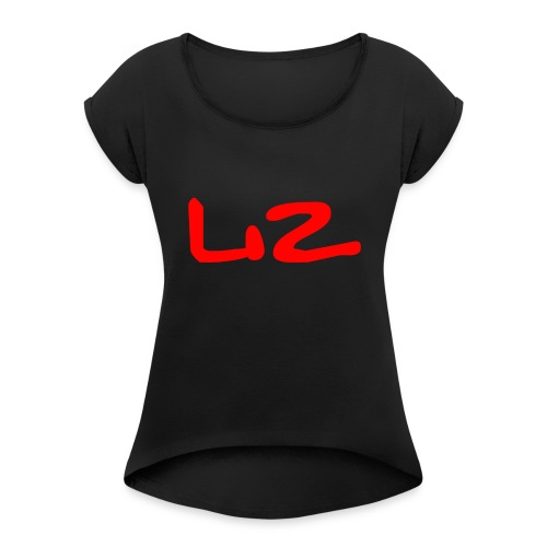 Untitled-2 - Women's Roll Cuff T-Shirt