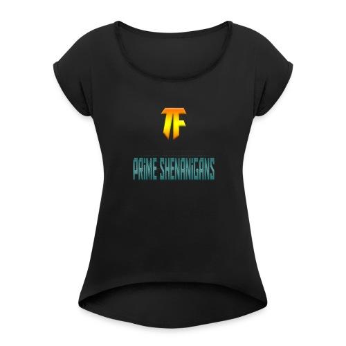 Trollfacer7 - Women's Roll Cuff T-Shirt