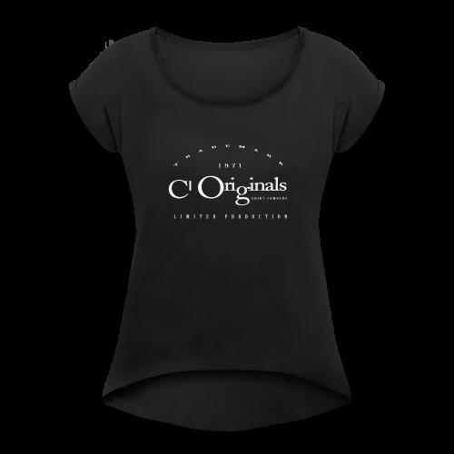 CL ORIGINALS LIMITED PRODUCTION LOGO - Women's Roll Cuff T-Shirt
