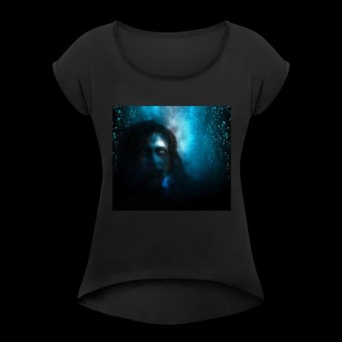 Fear Art 1 - Women's Roll Cuff T-Shirt