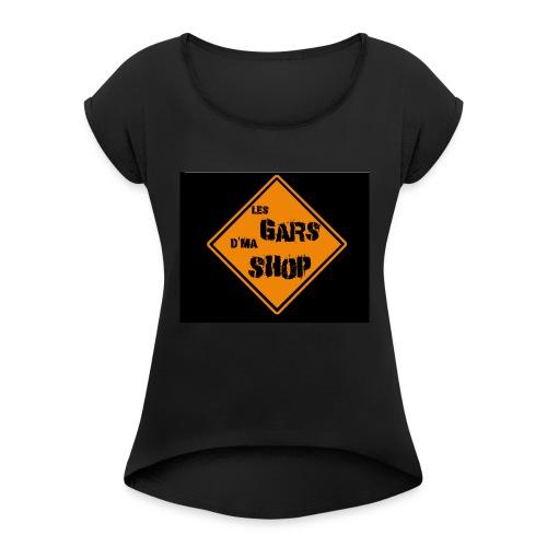 shop_n - Women's Roll Cuff T-Shirt