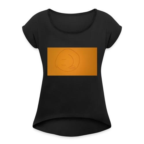 carmen art - Women's Roll Cuff T-Shirt