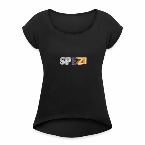Spezitext - Women's Roll Cuff T-Shirt