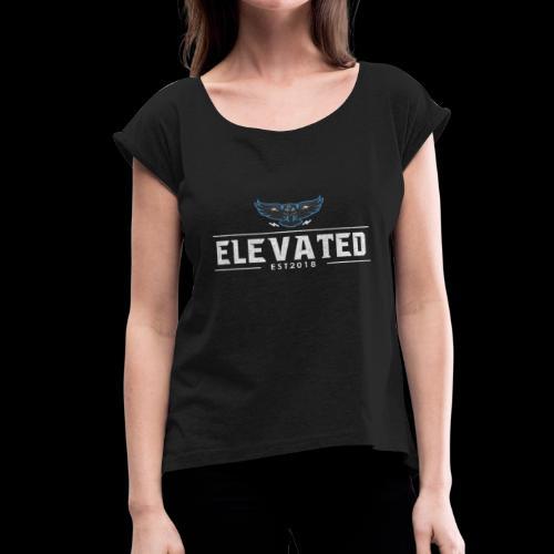 nationvintage - Women's Roll Cuff T-Shirt