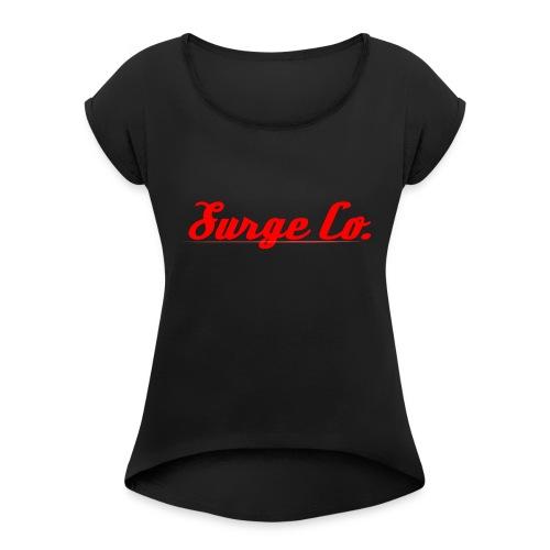 Surge Co. - Women's Roll Cuff T-Shirt