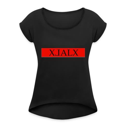 alxdesign1 - Women's Roll Cuff T-Shirt