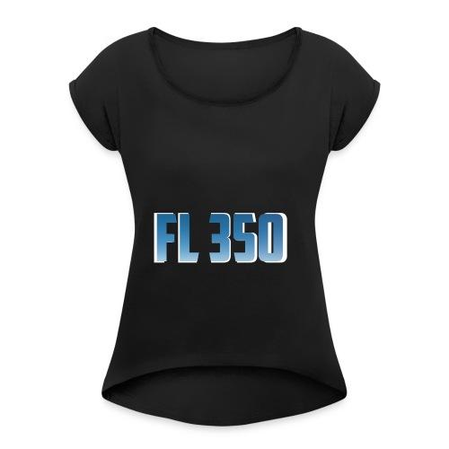FL350 - T-shirt Femme à manches retournées