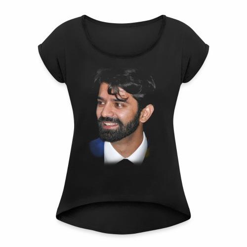 Barun Sobti - Women's Roll Cuff T-Shirt