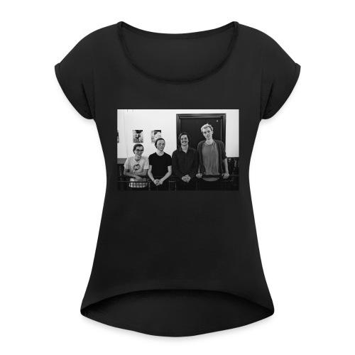 groupphoto - Women's Roll Cuff T-Shirt
