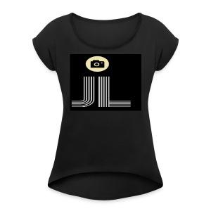my brand/logo - Women's Roll Cuff T-Shirt