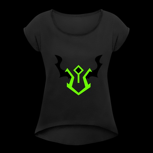 the devastator - Women's Roll Cuff T-Shirt