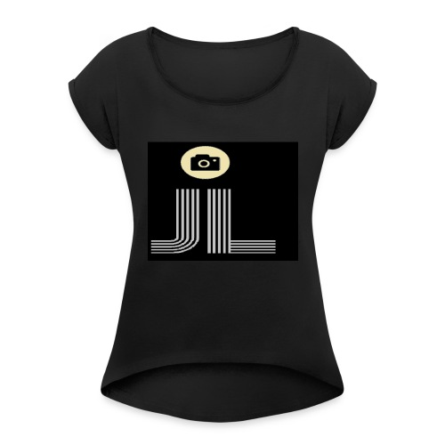 my brand/logo - Women's Roll Cuff T-Shirt