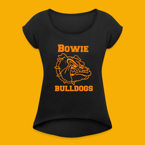 Bulldog Apparel - Women's Roll Cuff T-Shirt