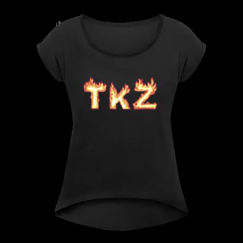 TKZ - Women's Roll Cuff T-Shirt