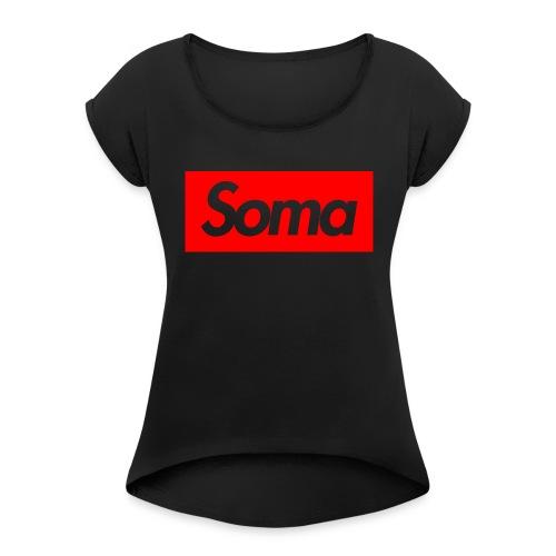 Soma Shirt red - Women's Roll Cuff T-Shirt