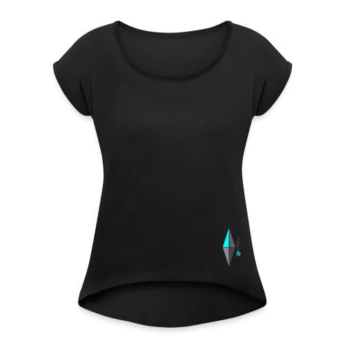 DSFit | Diamond - Women's Roll Cuff T-Shirt