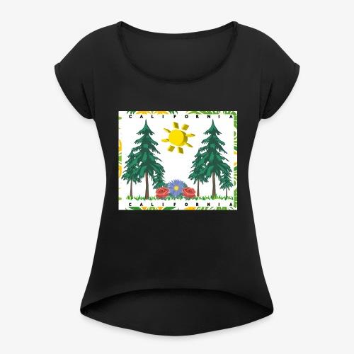 California Living - Women's Roll Cuff T-Shirt