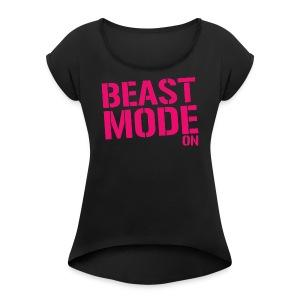 Itslukee Merch - Women's Roll Cuff T-Shirt