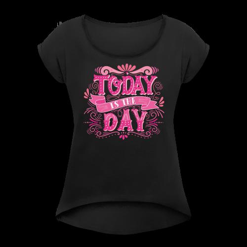 Shirt2 blog - Women's Roll Cuff T-Shirt