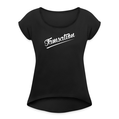 Famsation - Women's Roll Cuff T-Shirt