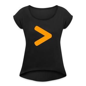 The Secret - Women's Roll Cuff T-Shirt