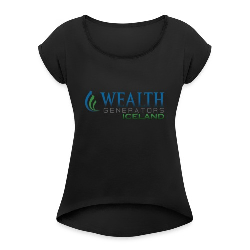 WGiCELAND - Women's Roll Cuff T-Shirt