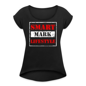 Smart Mark Lifestyle - Women's Roll Cuff T-Shirt