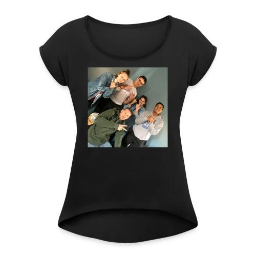 Friends - Women's Roll Cuff T-Shirt