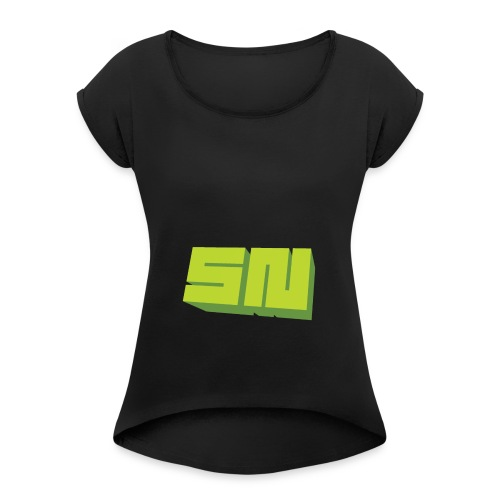 SNGC - Women's Roll Cuff T-Shirt