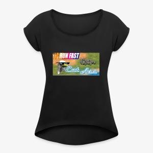 Speedy Boi - Women's Roll Cuff T-Shirt