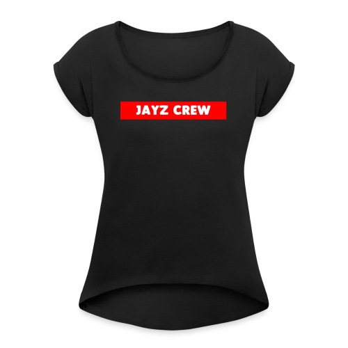 LIMITED JAY CREW SUPERME LOOK - Women's Roll Cuff T-Shirt