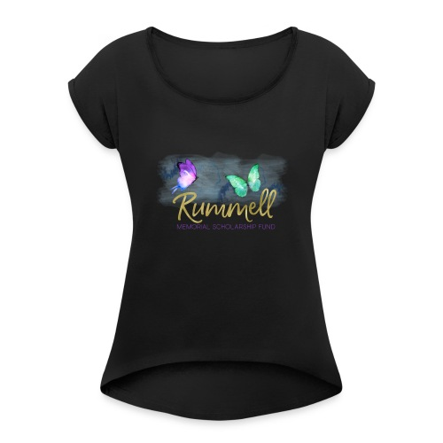 Rummell Memorial Scholarship Fund - Women's Roll Cuff T-Shirt