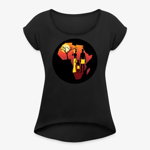 Hope for the East - Women's Roll Cuff T-Shirt