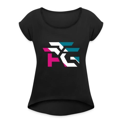 ATG Logo - Women's Roll Cuff T-Shirt